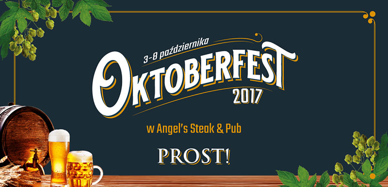 Oktoberfest w restauracji Angels Steak & Pub w Ustroniu